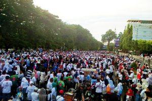 RDPS Wujudkan Janjinya Putihkan Makassar Tanpa Bendera Partai
