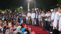 Klaim Kemenangan 62 Persen, Prabowo Sujud Syukur