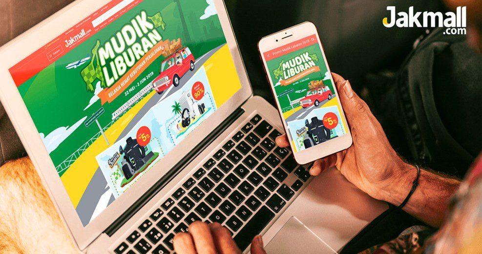 Mudik Lebaran 2019, Jakmall.com Beri Diskon Hingga 90%