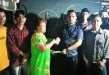 BPBD Makassar Salurkan Bantuan kepada Korban Kebakaran di Pattunuang