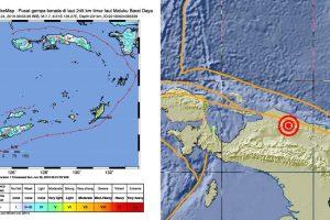 Gempa Kuat 7,7 SR Terjadi di Laut Maluku, Tidak Berpotensi Tsunami