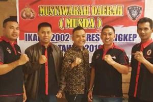 Bripka Awaluddin Kembali Jabat Ketua Ikaba 2002 Res Pangkep