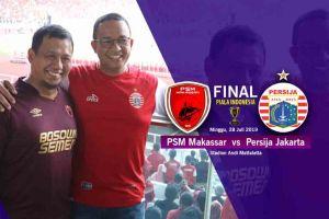 Final PSM vs Persija Leg II, Iqbal Suhaeb Serukan Jaga Persaudaraan