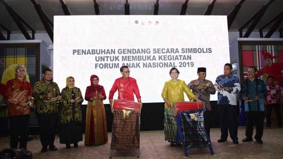 Gubernur Sulsel Jamu Seribu Anak dari 34 Provinsi se Indonesia