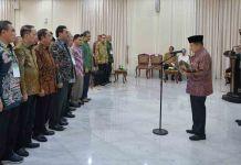JK Lantik Rektor Unismuh Makassar Jadi Wakil Ketua BKS PTIS 2019-2023