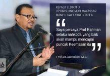 Kepala LLDIKTI IX Optimis Unismuh Makassar Mampu Raih Akreditasi A BAN PT