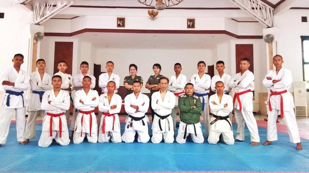 Kodam Siliwangi Boyong Medali Pada International Open Karate Championship 2019