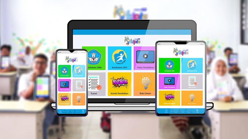 Pendidikan.id Luncurkan Mobile Aplikasi KIPIN SCHOOL 4.0 G