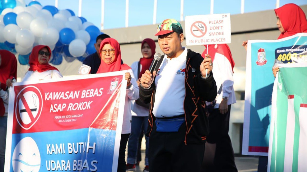 Pj Wali Kota: Jangan Ragu Menegur Warga yang Merokok di Kawasan Umum