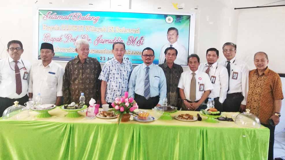 Prof Tahir Kasnawi Ditunjuk sebagai Plt Rektor Universitas Cokroaminoto Makassar