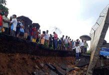 Tembok Runtuh Menimpa Rumah Warga, 15 Tewas