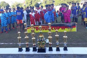 Pemuda Desa Kabba Gelar Turnamen Dusun Cup II