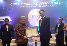 Direktur Keuangan & Administrasi PT Elnusa Petrofin Raih Best Chief Financial Officer (CFO) 2019
