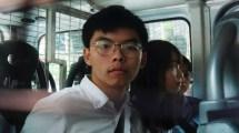 Joshua Wong, Aktivis Terkemuka Hong Kong Ditahan