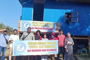 Komunitas Peduli dan Berbagi, Hadirkan Hunian untuk Dhuafa