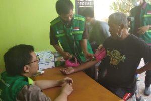 Kelurahan Biring Romang Buka Posko Kesehatan Korban Bencana Asap
