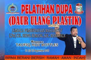 Gelar Pelatihan Daur Ulang Plastik, LPM Biring Romang Hadirkan Instruktur dari Malang