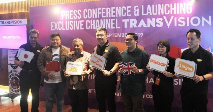 Transvision Perkenalkan Channel Lingua untuk Dukung Mutu Pendidikan Indonesia