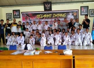 Inkanas Lutra Gelar Ujian Kenaikan Tingkat, 200 Karateka