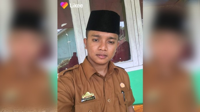 Kisah Guru Honorer Cari Penghasilan Tambahan Menjadi Influencer-Miftahudin, guru honorer di Lampung Timur