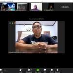 Diskusi Online, Kadiskop UMKM Sulsel Beri Semangat Pelaku Usaha