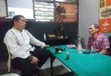 Ketua DPK PKPI Makassar Silahturahim Dengan Deng Ical