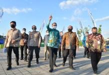 RTH Taman Emmy Saelan seluas 2,5 hektar Diresmikan Gubernur Sulsel