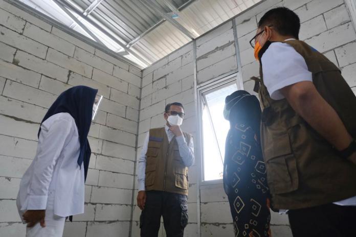 Tahap Awal Pemprov Sulsel Bangun 50 unit Huntap Bagi Korban Banjir Bandang di Lutra