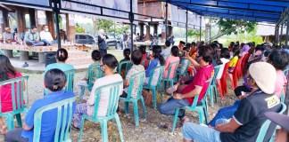 """Sosialisasi di Mari-Mari, IDP Yakinkan Harapan Masyarakat Sudah Tercantum Dalam Visi Misi """"BISA"""""""