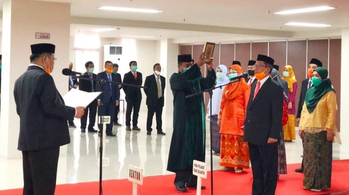 Rektor UNM lantik Dekan Psikologi dan 30 Pejabat Lingkup UNM