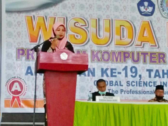 Dosen FKIP Unismuh Makassar Eny Syatriana Orasi ilmiah di Global Scence Institute Ternate