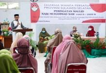 DWP Sulsel Peringati Maulid Nabi Besar Muhammad SAW