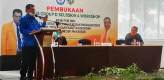 Rektor UNM, Dorong Visi Misi Fakultas Ekonomi Sejalan Program Merdeka Belajar