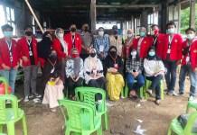 Mahasiswa KKN Unhas 105 Awasi Pilwalkot 2020