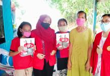Mahasiswa KKN Unhas Salurkan Bantuan untuk Warga Biringala Gowa