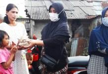 Plt Lurah Biring Romang Pimpin Penyerahan Bantuan Korban Banjir Tamangapa