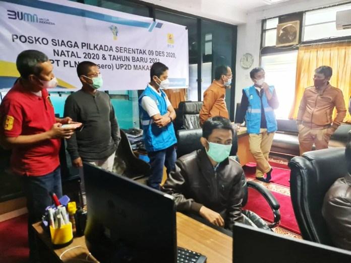 Pastikan Kesiapan Petugas Jelang Tahun Baru, PLN Kunjungi Unit Layanan di Makassar