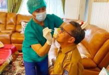 Gubernur Nurdin Abdullah Tegaskan Siap Jadi Penerima Vaksin Covid 19 Pertama