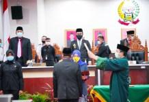 Wagub Hadiri Pengucapan Sumpah PAW DPRD Sulsel