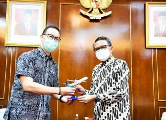 Terima Pimpinan Garuda, Gubernur sulsel tambah Rapid Antigen gratis Bagi Calon Penumpang