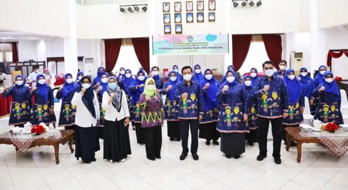 Siapkan Generasi Maju, Bunda PAUD Makassar Perhatikan Periode Emas Anak