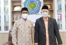 Ketua PWM Sulbar Silaturrahim ke Rektor Unismuh Makassar