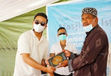 Gelorakan Semangat Kemanusiaan, Kalangan Milenial Dirikan Masjid Di Palu