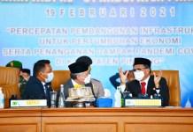 HUT Pinrang ke-61: Gubernur Ingatkan Bersatu Pulihkan Ekonomi & Sukseskan Vaksinasi