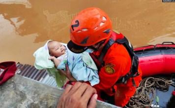 Jakarta Diterjang Banjir, Lebih dari 1.000 Warga Dievakuasi