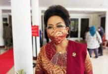 Anggota DPD RI asal sulsel, Lily Amelia Salurapa