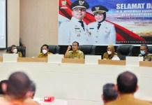Rapat Pengarahan Pertama, Walikota Makassar Tunjuk 16 Pelaksana Tugas