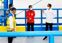 Resmikan Kolam Regulasi Nipa-nipa, Presiden Berharap dapat Mereduksi Banjir di Makassar