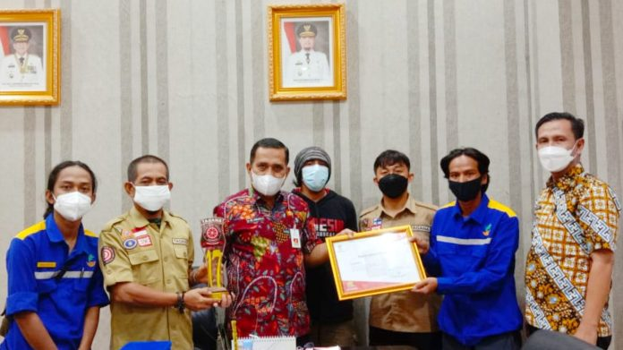 Tagana Sulsel Juara I Nasional Manajemen Vertikal Rescue