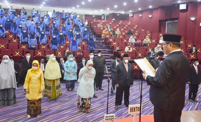 Rektor UNM Ajak PNS dan CPNS berinovasi Hadirkan Lulusan Memiliki Jiwa Kewirausahan